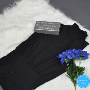 The Limited Black Sleeveless Turtleneck Top XS